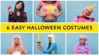 Need some last minute Halloween costume ideas? These are fun to wear all year round!  Available here http://amzn.to/2f2wci0: 6 EASY HALLOWEEN COSTUMES Need some last minute Halloween costume ideas? These are fun to wear all year round!  Available here http://amzn.to/2f2wci0