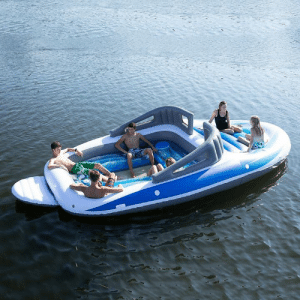 Memes, Party, and Boat: 6-Person Inflatable Bay Breeze Boat Island Party Island Just like a real boat without any of the expenses!  here >> https://amzn.to/2FbFyYq