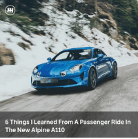 Memes, Porsche, and Cayman: 6 Things I Learned From A Passenger Ride In  The New Alpine A110 Could the Alpine A110 be the proper Porsche Cayman rival we've been waiting so long for? After a passenger ride, we reckon it might be...