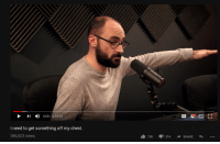 """Dank, Meme, and Http: 600/2:19:33  I need to get something off my chest.  386,523 views  19K 314SHARE <p>Vsauce the Nazi via /r/dank_meme <a href=""""http://ift.tt/2orH173"""">http://ift.tt/2orH173</a></p>"""