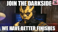 I can tick off having to make a Sith meme tongue emoticon Never thought Goldust could look intimidating! : JOIN THE DARKSIDE  WE HAVE BETTER FINISHES I can tick off having to make a Sith meme tongue emoticon Never thought Goldust could look intimidating!