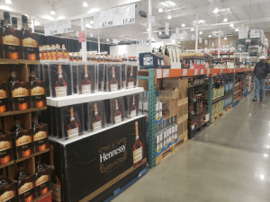 Beer, Costco, and Drinking: 61762  KORBEL  BRANDY  CALIFORNINA  122418  HENNESSY VS  COGNAC  FRANCE  921081  KIRKLAND SIGNATURE  BLENDED SCOTCH WHISKY  1 75L  he704  KIRKLAND SIGNATURE  2YR BLD SCOTCH WHISKY  175L  1.75L  1.75L  SCOTLAND  SCOTLAND  1224494  15.49  17.99  62.99  35.99  ACW  KORBEL  WARNING  38.99  KORBEL  Drinking diced spirts  beer,cooerswne and  er ahac  bevarnges may Increse  Cancer rkand dring  Brandy  Brandy  39.99  pregcy, can cae  brh delcts  17.39  Red Label  Red Label  Red Label  1&.9  22.9  TL 12  MARTELL  Ut NH 2608  65793 ALA1925  OR-45358 MI-14422  WY  В  OH-5244B  MART  12 750 ML 40% avl  CAM  CAN CAMPRAM CACANCANM  ARI  SEL  3377 17  KORBEL  KORBEL  ECEELAR  LAD  ST  inoes ccioscr TEAE  Hennessy  35.99  Brandy  Hennessy  Brandy  149.99  He  COGNAC  48.99  34.99  Hennessy  Hennessy  RGIO CA  CA  Hen  MARS  Henness  /EDERE BELVEDERE  NO  Hennessy  BKP  2LVEDE IVEDE  Hennessy  KORBEL  Hennessy  VCNY PECA  COCNAC  KORBEL  Brandy  WIMBLE  NICTAR  RBEL  Brandy  Brandy  UNDAD ANN  Hennessy  AEDE E  Hennessy  ERY SPECIAL  COGNAC  KORBEL  VERY SPECIAL  KORBEL  Bandy  Brandy  Mnessy  COGNAC  KORBEL  (CM) The only alcohol in the entire store Costco locks up to prevent its theft