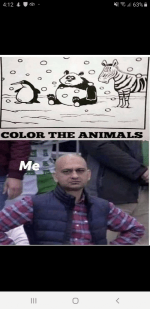 Sedlyfe: 63%  4:12  COLOR THE ANIMALS  Me  0  0 Sedlyfe