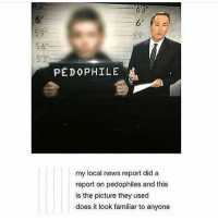 Memes, News, and Supernatural: 6'3  61  5'9  5 6  53  5'3  PEDOPHILE  my local news report did a  report on pedophiles and this  is the picture they used  does it look familiar to anyone spn Supernatural spnfamily jaredpadalecki jensenackles mishacollins sam dean winchesters castiel destiel fandom ship otp