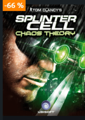 Ubisoft, Games, and Good: -66 9 TOM CLANCY'S  SPYELE  R  CHAOS THEORY  UBISOFT [Info]There is currently a sale on Uplay, so you can grab classical Ubisoft games pretty cheap. For example Splinter Cell 3 for roughly 3€. If you never had the chance to play this great series, today is a good day to start
