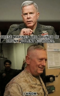 Funny Military Memes: AREA BUNCH  DRUNK VIOLENT A HOLES.  KNOW