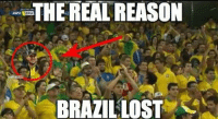 Romo strikes again!!: THE REAL REASON  NAMEMET  BRAZIL LOST Romo strikes again!!