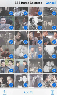 Friend: Hey can i borrow your phone for a sec Me: yeah hold on: 666 Items Selected  Cancel  Add To Friend: Hey can i borrow your phone for a sec Me: yeah hold on
