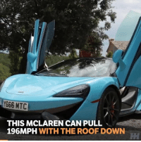DeMarcus Cousins, Memes, and Boost: 666 MTC  THIS MCLAREN CAN PULL  196MPH WITH THE ROOF DOWN 196mph with the roof down is pretty impressive! . . carthrottle turbo boost carsofinstagram carswithoutlimits instacars supercar racecar blacklist cargram