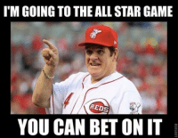 BREAKING: Pete Rose to Participate in 2015 MLB All-Star Game Festivities: ITM GOING TO THE ALLSTAR GAME  REDS  YOU CAN BET ON IT BREAKING: Pete Rose to Participate in 2015 MLB All-Star Game Festivities