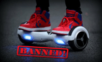 "New York City bans ""HoverBoards"" and will fine $500 for anyone using it.: New York City bans ""HoverBoards"" and will fine $500 for anyone using it."