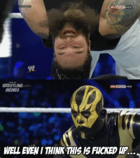 WRESTLING  MEMES  sky SPORT HD2  Sky SPORT  HD2 It's rare that Goldust is the normal one in the match...