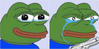Guns, Mfw, and Pepe the Frog: When you start missing someone but then you remember the shit they did to you