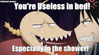 Lel ~Red: fullmetal memes  You're Useless in bed!  Especially in the shower! Lel ~Red