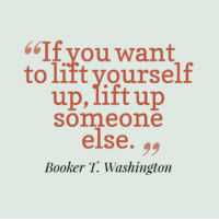 Memes, Booker T, and 🤖: 66If you want  to lift yourself  up, lift up  Somme one  else  Booker T. Washington
