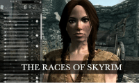 Skyrim: (6715)  0.5  15  THE RACES OF SKYRIM