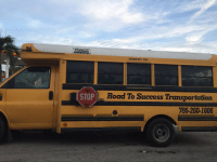 Children, DJ Khaled, and Key to More Success: The bus DJ Khaled's kids take to school    Road to Success Transportation The bus DJ Khaled's kids take to school