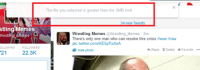 God, Meme, and Memes: stling Memes  Wrestling Memes  OLLOWING  FOLLOWERS  21  22.3K  The file you selected is greater than the 3MB limit  34 new Tweets  Wrestling Memes  @Wrestling Memes 3m  There's only one man who can resolve this crisis  #wwe #raw  pic.twitter.com/KE5p TtsXeA  4h Reply Delete Favorite  Hide photo My god...