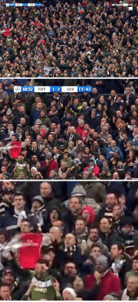 Arsenal, Memes, and Juventus: 68:52  TOT  1-2  3-4  BT Sport 2HDLIVE  JUV   68:52  TOT  1-2  JUV Arsenal fan in the Juventus end at Wembley https://t.co/2W0Cf5NK3s