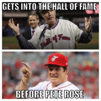 Will Ferrell in the Hall of Fame? Seems legit. (Alex Jackson): GETS INTO THE HALL OF FAME  BEFORE  PETE ROSE Will Ferrell in the Hall of Fame? Seems legit. (Alex Jackson)