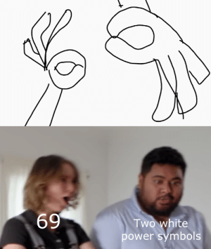 Power, White, and Dank Memes: 69  Two white  power symbols New format?