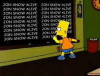 Jon Snow is alive!: @Thrones_Memes  Jon Snow is alive! Jon Snow is alive!