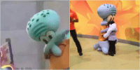 The side of squidward we see vs the side of squidward the media doesn't show: The side of squidward we see vs the side of squidward the media doesn't show