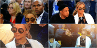 Beyoncé went to a basketball game last night acting like nothing happened 😂: Beyoncé went to a basketball game last night acting like nothing happened 😂