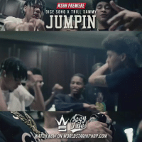 "WSHH PREMIERE  DICE SOHO X TRILL SAMMY  JUMPIN  WATCH NOW ON WORLDSTARHIPHOP COM #WSHH #Premiere @DiceSoHo & @TrillSammyy ""Jumpin"" #LiveNow #Exclusive #IceyLife dir- @tattzbymickie"