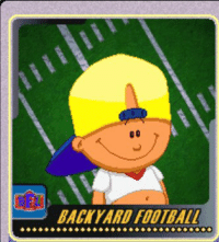 Kanye thought he had fooled us. We all know who Pablo is.   BACKYARD FOOTBALL Kanye thought he had fooled us.-We all know who Pablo is.