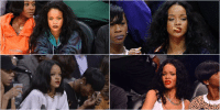 Funny, Queen, and Mean: ile Queen of sitting courtside & lookin mean