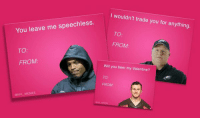 @NFL_Memes  Here are some NFL-themed Valentine's Day cards that won't disappoint. Here are some NFL-themed Valentine's Day cards that won't disappoint.