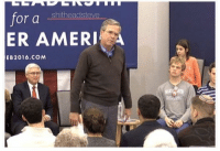 Jeb always looks like a substitute teacher that just got some attitude from the problem student: Jeb always looks like a substitute teacher that just got some attitude from the problem student