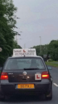 Who can apply the best Samuel L. motherf***ing Jackson quote to this driving instructor? Car memes: Samuel  L Jackson  01704 535372 Who can apply the best Samuel L. motherf***ing Jackson quote to this driving instructor? Car memes
