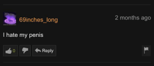 69inches_long hates their penis: 69inches_long hates their penis