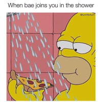 Bae, Funny, and Shower: When bae joins you in the shower  @turntfortom ~ sTeAmY ~ (via @turntfortom)
