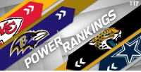 Memes, Nfl, and Patriotic: 7  1 Week 17 NFL Power Rankings (via @HarrisonNFL):  1. @Patriots 2. @Vikings 3. @steelers 4. @RamsNFL 5-32. https://t.co/WFPm1o8Blp https://t.co/5VMQbXtdDw