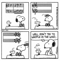 The wind messes things up snoopy snoopycomics comics cartoon woodstock peanuts snoopygram: 7-12  SNOOPY COMICS  WELL, DON'T TRY TO  WHISTLE IN THE WIND. The wind messes things up snoopy snoopycomics comics cartoon woodstock peanuts snoopygram