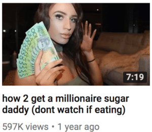rheeinbflat:  theshitneyspears:  prepping for 2019  The FBI comes to your house and shoots you if you watch this while eating: 7:19  how 2 get a millionaire sugar  597K views 1 year ago rheeinbflat:  theshitneyspears:  prepping for 2019  The FBI comes to your house and shoots you if you watch this while eating