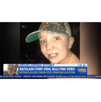 """KeatonJones' mother says her family are not racists. She says the Confederate flag photos were meant to be """"extreme"""" and """"ironic and funny"""" (via @goodmorningamerica): 7:38 24  BACKLASH OVER VIRAL BULLYING VIDEO  MOTHER'S ALLEGED ONLINE POSTS SPARK NEW QUESTIONS  GMA  AL ELECTION TODAY: OBAMA AND BIDEN RECORDED ROBOCALLS FOR DEMOCRAT DOUG JONES KeatonJones' mother says her family are not racists. She says the Confederate flag photos were meant to be """"extreme"""" and """"ironic and funny"""" (via @goodmorningamerica)"""