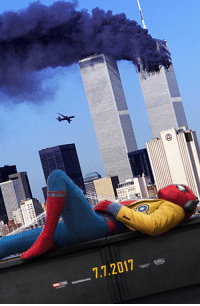Spiderman - Homecoming aka 9/11: 7.7.2017 Spiderman - Homecoming aka 9/11