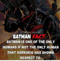 dc dccomics dceu dcu dcrebirth dcnation dcextendeduniverse batman superman manofsteel thedarkknight wonderwoman justiceleague cyborg aquaman martianmanhunter greenlantern theflash greenarrow suicidesquad thejoker harleyquinn catwoman: 7  DC NATION UNIVERSE  BATMAN  BATMAN IS ONE OF THE ONLY  HUMANS IF NOT THE ONLY HUMAN  THAT DARKSEID HAS SHOWN  RESPECT TO. dc dccomics dceu dcu dcrebirth dcnation dcextendeduniverse batman superman manofsteel thedarkknight wonderwoman justiceleague cyborg aquaman martianmanhunter greenlantern theflash greenarrow suicidesquad thejoker harleyquinn catwoman