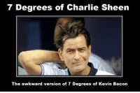 Charlie Sheen: 7 Degrees of Charlie Sheen  The awkward version of 7 Degrees of Kevin Bacon