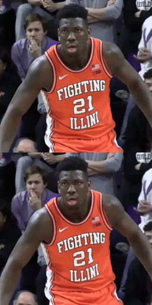 7-foot, 290 pound Big Ten Freshman of the Year, Illinois center Kofi Cockburn has declared for the 2020 NBA Draft. https://t.co/j14PcbsPY4: 7-foot, 290 pound Big Ten Freshman of the Year, Illinois center Kofi Cockburn has declared for the 2020 NBA Draft. https://t.co/j14PcbsPY4