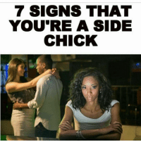 Click link in my bio to find out if you are a sidechick (paid advertisement 💸💸) ItsFreeToUnfollow 👍: 7 SIGNS THAT  YOU'RE A SIDE  CHICK Click link in my bio to find out if you are a sidechick (paid advertisement 💸💸) ItsFreeToUnfollow 👍
