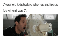 """Tumblr, Blog, and Http: 7 year old kids today: iphones and ipads  e when I Was/ <p><a href=""""http://memehumor.net/post/175229400249/it-was-a-simpler-time"""" class=""""tumblr_blog"""">memehumor</a>:</p>  <blockquote><p>It was a simpler time</p></blockquote>"""