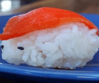 Why this sushi look like it hates Mexicans? 😂😂😂😩🍣: Why this sushi look like it hates Mexicans? 😂😂😂😩🍣