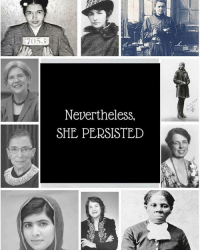 And it's a GREAT thing that they did!: 7053  Nevertheless,  SHE PERSISTED And it's a GREAT thing that they did!