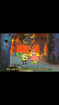 MemeHistory The US occupation of Middle Eastern countries:  #MemeHistory The US occupation of Middle Eastern countries   We did it Patrick! We saved the city. MemeHistory The US occupation of Middle Eastern countries