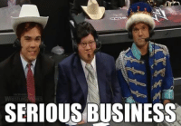 Wrestling, World Wrestling Entertainment, and Business: SERIOUS BUSINESS I'm super serious you guys
